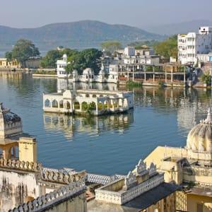 Höhepunkte Rajasthans ab Delhi: Udaipur: City of lakes