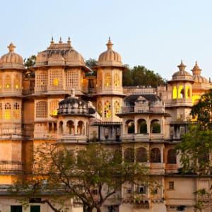 La féerie du Rajasthan de Delhi: Udaipur: City Palace