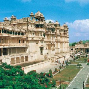 Höhepunkte Rajasthans ab Delhi: Udaipur: City Palace