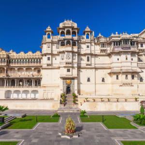 «The Deccan Odyssey» - L'éclat du Rajasthan de Mumbai: Udaipur City palace
