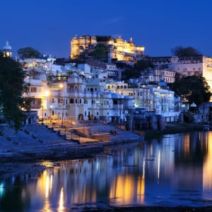 Indien für Geniesser ab Delhi: Udaipur: Night Shot