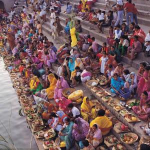 Reise zum heiligen Ganges ab Delhi: Varanasi: Ghats