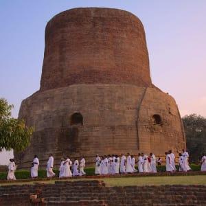 Reise zum heiligen Ganges ab Delhi: Varanasi: Sarnath