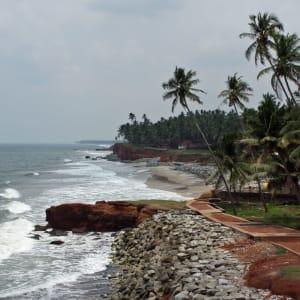 Tour à vélo à travers le Kerala de Kovalam: Varkala: Beach
