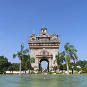 Tour de ville Vientiane: Vientiane: Patuxai