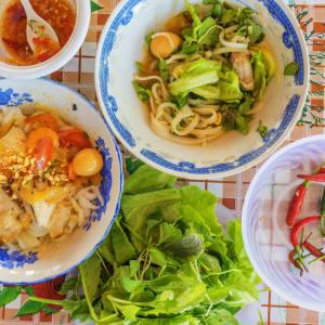 Saigon auf eigene Faust - ganzer Tag: Vietnamese noodle Mi Quang