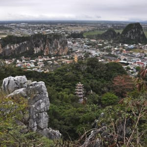 Grosse Indochina Reise ab Hanoi: View from the Marble mountains Danang