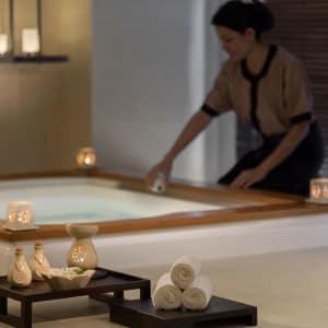 Hotel ICON à Hong Kong: Angsana Spa   Amenities