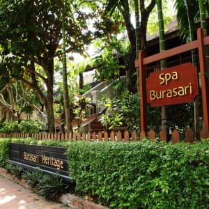 Burasari Heritage in Luang Prabang: In Front of Spa