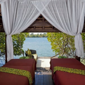 The Menjangan à Nord de Bali: Mangrove Spa - Double Treatment Gazebo