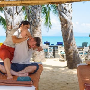 Paradise Beach Resort in Ko Samui: Massage