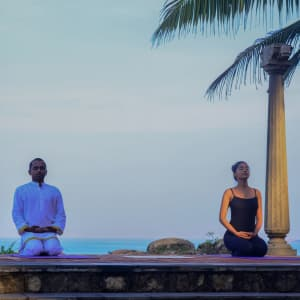 Niraamaya Retreats Surya Samudra à Kovalam: Meditation