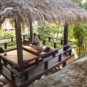 Anantara Rasananda Koh Phangan Villas in Ko Phangan: Outdoor Massage Sala