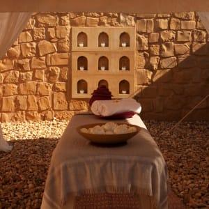 The Serai Desert Camp à Désert du Thar: Private Spa in Royal Tent Garden