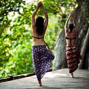 Anantara Rasananda Koh Phangan Villas in Ko Phangan: Private yoga class