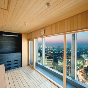 Mandarin Oriental à Tokyo: Spa dry sauna