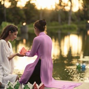Four Seasons Resort The Nam Hai à Hoi An: Spa Good Night Kiss ritual