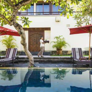 Nusa Dua Beach Hotel & Spa à Sud de Bali: Spa Lap Pool