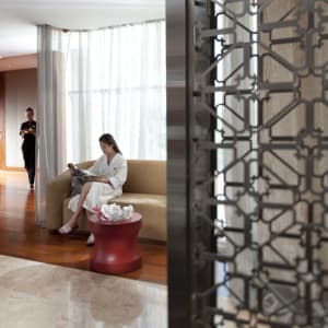 Mandarin Oriental Macau: Spa Reception