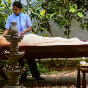 Niraamaya Retreats Surya Samudra à Kovalam: Spa Treatment