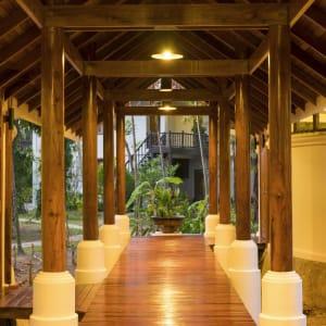 Thande Beach Hotel à Ngapali: Spa Walk Way