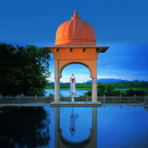 The Oberoi Udaivilas in Udaipur: Swimming Pool at Spa
