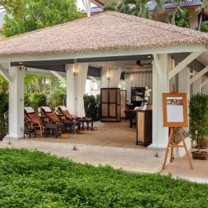 Outrigger Laguna Phuket Beach Resort: The Massage Sala by the pool