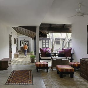 Tamarind Village in Chiang Mai: The Village Spa Lobby