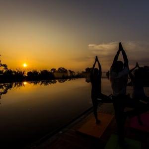 Aliya Resort & Spa in Sigiriya: Yoga