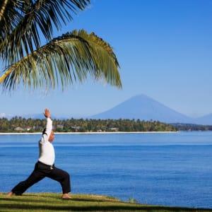 The Oberoi Beach Resort, Lombok: Yoga