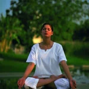 The Oberoi Rajvilas in Jaipur: Yoga