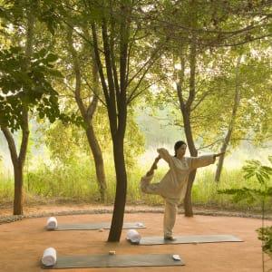 Aman Geniesser-Reise ab Jaipur: wellness: Yoga