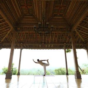 Plataran Borobudur Resort & Spa in Yogyakarta: Yoga