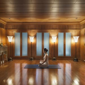 Mandarin Oriental à Bangkok: Yoga