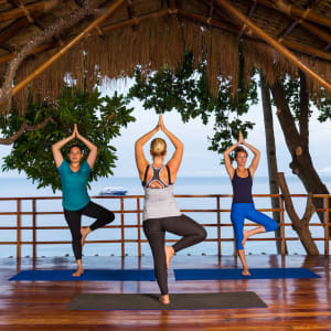 Atmosphere Resort in Negros: Yoga class