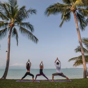 Peace Resort à Ko Samui: Yoga Class - Outdoor