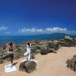 Six Senses Samui in Ko Samui: Yoga on the Rocks