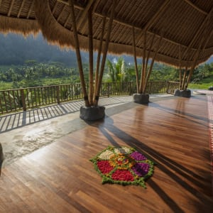 Wapa di Ume Sidemen à Ouest de Bali: Yoga Pavilion