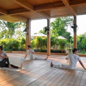 Six Senses Krabey Island à Sihanoukville & Îles: Yoga rooftop pavilion