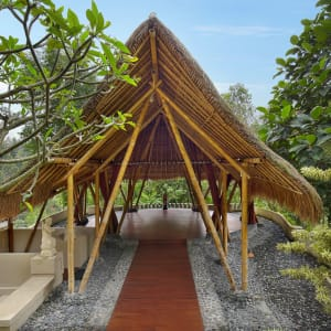 Jannata Resort & Spa in Ubud: Yoga Studio