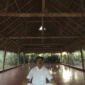 Marari Beach Resort in Mararikulam: Yoga Teacher