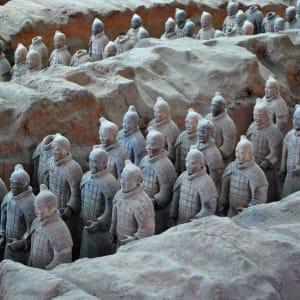 La Chine impériale avec une croisière sur le Yangtsé de Pékin: Xian Terracotta Warriors