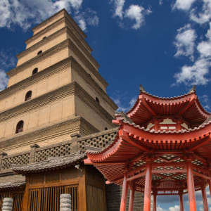 Glanzlichter Chinas mit dem Zug ab Peking: Xian Wild Goose Pagoda