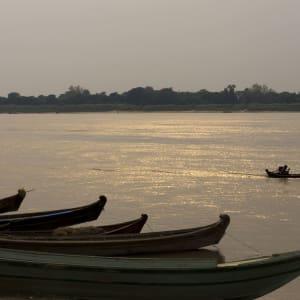 Le Myanmar authentique de Yangon: Yandabo Sunset