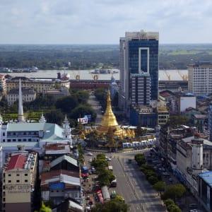Au pays des temples et des pagodes de Yangon: Yangon Sule Pagoda