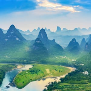 Märchenhaftes Südchina ab Shanghai: Yangshuo County Xingping