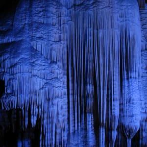 Rizières du cieletreliefs étranges de Guilin: Yangshuo: silver cave