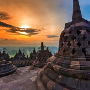 Java-Bali Kompakt ab Yogyakarta: Yogyakarta Borobudur at sunrise