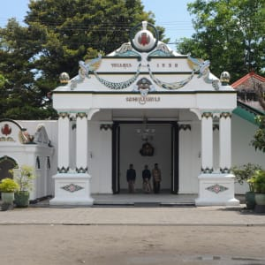 Java-Bali für Geniesser ab Yogyakarta: Yogyakarta Kraton Palace