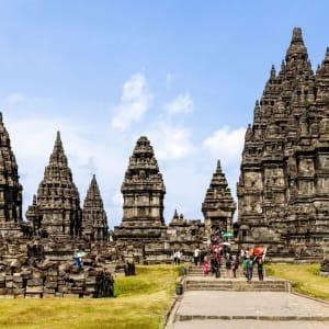 Les magnifiques temples de Prambanan à Yogyakarta: Yogyakarta Prambanan Temple
